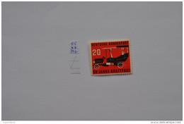 GERMANY, BRD,1955 50th Anniv Of Postal Motor Transport  MNH ** - Unused Stamps