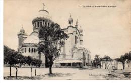 - ALGERIE - CPA Vierge ALGER - Notre-Dame D´Afrique - Collection Idéale P. S. N° 1 - - Algerien