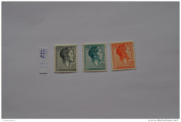 Luxemburg 1964 Mi. 690 - 692  Grande Duchesse Charlotte MNH ** - Unused Stamps