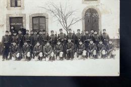 SOLDATS DU 26  EME MARCHES D EPREUVES LA GAREDE DE POLICE  CP PHOTO ORIGINALE - Regiments