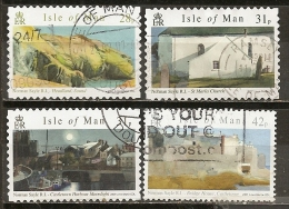 Ile De Man Isle Of Man 200- Peintures Paintings Obl - Man (Eiland)