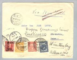 Venezuela 1931-05-16 Scadatbrief + USA-Frank.>CH>DE - Venezuela