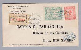 URUGUAY 1925-09-22 Montevideo Rio Negro - Uruguay