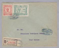 URUGUAY 1925-09-26 Montevideo Fray Bentos - Uruguay