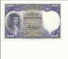 BILLETE 100 PESETAS 1931 - [ 2] 1931-1936 : Repubblica