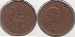 Sud Africa 1 Cent 1966 Km#65.2 - Used - Sud Africa