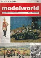 DC1) MODELLISMO MODELWORLD MAY 1973 ALMARK PUBLICATIONS GARDES DU CORPS 1900 CONDOR LEGION MARKING ECC - Riviste