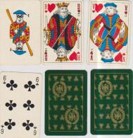 Jeu De 52 Cartes « CATEL ET FARCY » Au Dos Embleme De Napoléon - Playing Cards (classic)
