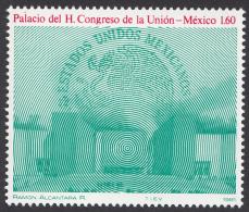 Timbre Du  MEXIQUE,  1981      '     Yvert  N° 940  Neuf **     '    1 P. 60   Palais Et Armoiries Du Mexique - Mexico