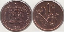 Sud Africa 1 Cent 1971 Km#82 - Used - Sud Africa