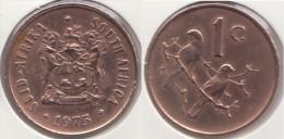 Sud Africa 1 Cent 1975 Km#82 - Used - Sud Africa