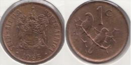 Sud Africa 1 Cent 1985 Km#82 - Used - Sud Africa