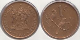 Sud Africa 1 Cent 1986 Km#82 - Used - Sud Africa