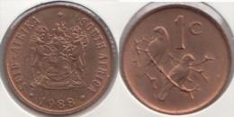Sud Africa 1 Cent 1988 Km#82 - Used - Sud Africa