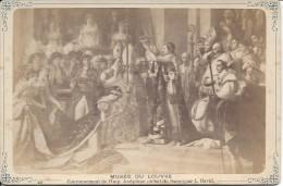 Musée Du Louvre, Couronnement De L'Imp, Joséphine ( Détail Du Sacre ) Par L. David ( 1898 ) - Musées
