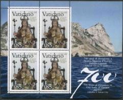 2009 Vaticano, 700° Ann. Devozione A Nostra Signora D'Europa , Serie Completa Nuova (**) AL FACCIALE - Blocchi E Foglietti