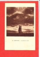 INDOCHINE Cpa Animée Au Clair De Lune          34 T B D - Postcards