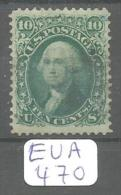EUA Scott  96 Grill F Signed Very Fine Blue Cancel YT 22a # - Used Stamps