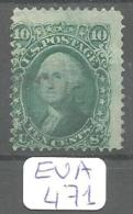 EUA Scott  96 Gril F Doube Transfer Very Good YT 22a # - Used Stamps