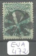 EUA Scott  89 E Grill Doube Transfer Very Good YT 22a # - Used Stamps
