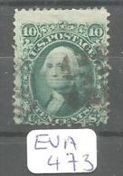 EUA Scott  89  E Split Grill YT 22a # - Used Stamps