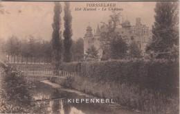 VORSSELAER 1927 KASTEEL DE BORREKENS VORSELAAR LE CHATEAU / MET HET BRUGGETJE / AVEC LE PETIT PONT - Vorselaar