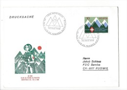 12710 - Lettre Club De Femmes Alpinistes Montreux Pour Ruswil 25.05.1968 - Suisse