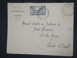 """FRANCE - MAROC - Enveloppe Obl. """" Trésor Et Postes Aux Armées Meknés 1918""""  Pour Paris En 1925 - à Voir - Lot P7839 - Briefe U. Dokumente"""
