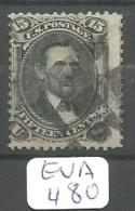 EUA Scott  91 E Grill Very Good Signed YT 28 A # - Used Stamps