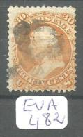 EUA Scott 100 Very Good YT 25a # - Used Stamps