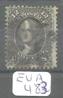 EUA Scott  97 Very Good YT 23a # - Used Stamps
