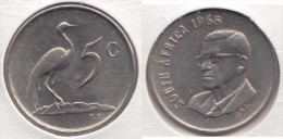 Sud Africa 5 Cents 1968 Km#76.1 - Used - Sud Africa