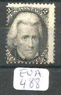 EUA Scott  73 Very Good Red Cancel YT 27 # - Used Stamps