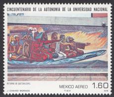Timbre Du  MEXIQUE,  1979      '     Yvert  N° 499  Neuf **     '  1 P. 60  Retour De Quetzalcoatl - Religious