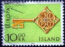 Iceland 1968 EUROPA MiNr.418 ( Lot B 1908 ) - 1944-... Republik