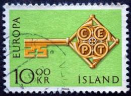 Iceland 1968 EUROPA MiNr.418 ( Lot B 1909 ) - 1944-... Republik