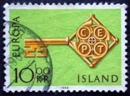 Iceland 1968 EUROPA MiNr.418 ( Lot B 1910 ) - 1944-... Republik