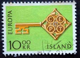 Iceland 1968 EUROPA MiNr.418 ( Lot B 1911 ) - 1944-... Republik