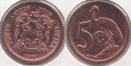 Sud Africa 5 Cents 1990 Km#134 - Used - Sud Africa