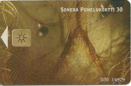 FINLANDE FINLAND SUOMI TELECARTE PHONECARD  POISSON FOSSILE