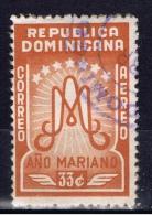 DOM+ Dominikanische Republik 1954 Mi 539 Marianisches Jahr - Repubblica Domenicana