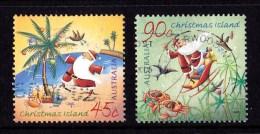 Christmas Island 2005 Christmas Set Of 2 Used - Christmaseiland