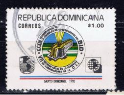 DOM+ Dominikanische Republik 1992 Mi 1646 Entwicklungsbank-Konferenz - Dominikanische Rep.