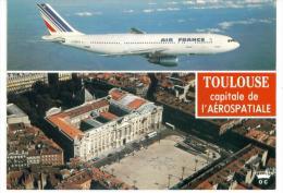 CPM  31 - Toulouse Capitale De L'Aérospatiale - Aerodrome