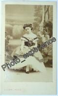 Photo DISDERI Cdv XIX Femme Artiste Russe Danse Opéra Russian Women 1860 PARIS - Photos