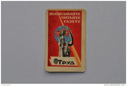 Calendar 1969 USSR Periodical Trud Labor Arbeit Earth Logo Newspaper 78 - Calendriers