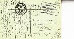 Hopital Complémentaire 4-saint Briac (ille & Vilaine)-décembre 1915 - WW I