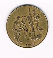 ***  WEST AFRICAN STATES  10 FRANCS  1997 - Centrafricaine (République)