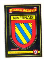 Bourgogne, Blason Adhésif De La Nièvre - Ohne Zuordnung