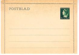 Postblad G20 Ongebruikt Met Randen - Postal Stationery